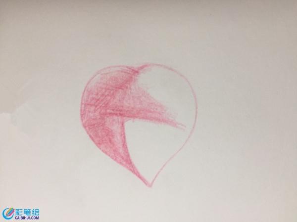 彩铅桃子上色步骤详解图