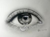 动漫漫画教程写实<font color='red'>眼睛</font>与漫画<font color='red'>眼睛</font>对比