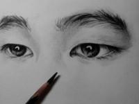 素描教学之<font color='red'>眼睛</font>的画法