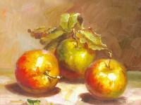 5分钟学会一幅画,画10月份最好吃的<font color='red'>水果</font>