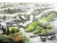 彩铅初学者临摹中国画