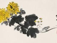 中国画艺术之菊花的画法