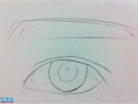 彩铅画<font color='red'>眼睛</font>教程详细步骤图