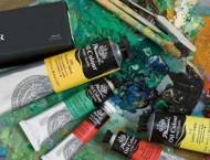 风景油画需要什么颜色?