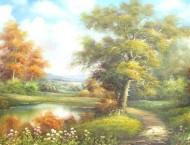 艺术大师风景油画视频教程