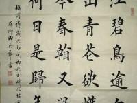 田老师每日一题每日一字欧颜柳赵体楷书第十七课