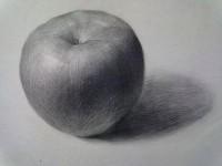 素描<font color='red'>水果</font>篇之苹果的画法