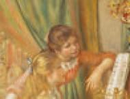 油画钢琴姑娘的画法详解
