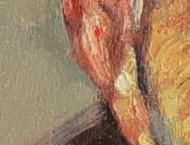 油画艺术绘画耳朵的画法