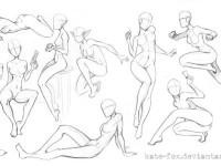 动漫画身体躯干的画法详解