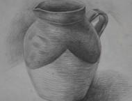 陶罐的素描画视频教程
