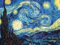 梵高《星空》油画的画法教程