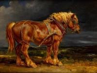 <font color='red'>动物</font>油画教程之骏马的画法