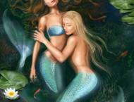 油画教程之美人鱼的画法