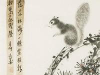 国画入门之松鼠(动物篇)的画法
