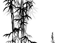 国画教程之竹子画法