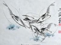 国画虾的画法,就这样画出精彩!