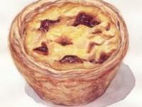 水彩画教你画美味的蛋挞(上)