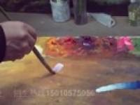 今天大师教你如何学习油画调色
