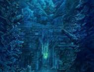 油画棒快速绘画之深海的画法