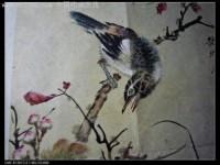 油画画山雀的画法详解
