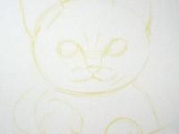 彩铅画<font color='red'>猫</font>咪