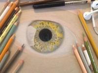 彩铅画<font color='red'>眼睛</font>步骤