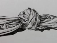 素描一个小小的绳结