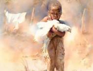 美国水彩画家的非洲风情及人物画