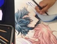 彩铅手绘动漫人物教程