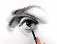 素描画眼睛教程