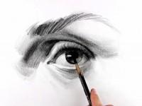 素描画<font color='red'>眼睛</font>教程