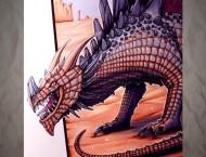马克笔手绘恐龙