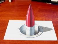 彩铅和<font color='red'>马克笔</font>手绘裸眼3D画