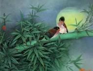 22幅国画工笔竹子,确实美得与众不同